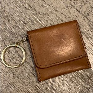 Vintage Coach keychain coin purse